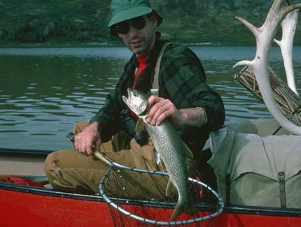 Clarke Thelon River Fishing