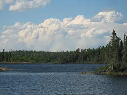 Trip Log Woodland Caribou Park