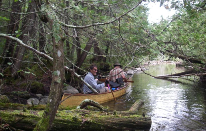 Quetico Park Canoe Trip Photo courtesy Robert Anderson