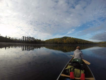 BWCAW Canoe Trip Photo courtesy Taylor Ham