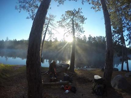 BWCAW Canoe Trip Photo courtesy Taylor Ham