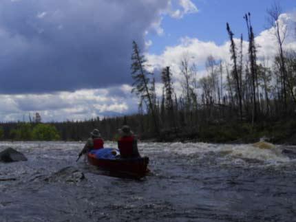 canoe trip Pipestone