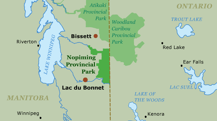 Nopiming Provincial Park Guide · Canoeing com