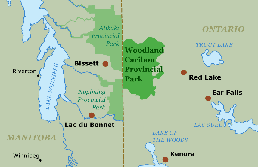 Woodland Caribou Provincial Park Guide on