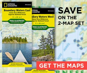 BWCAW Entry Point Map · Canoeing.com