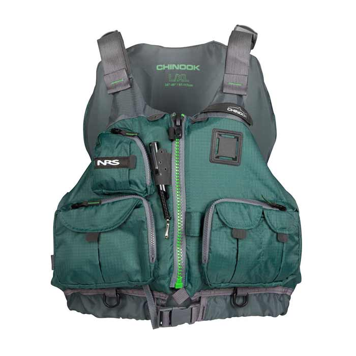 Nrs chinook fishing pfd life jackets pfds men 39 s for Nrs chinook fishing pfd