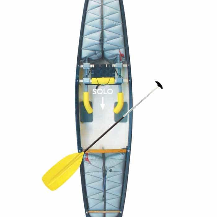Freedom Canoe Braces Single Seat Brace Kit