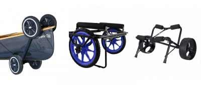 Portage Canoe Wheels and Carts