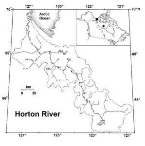 Horton River Map