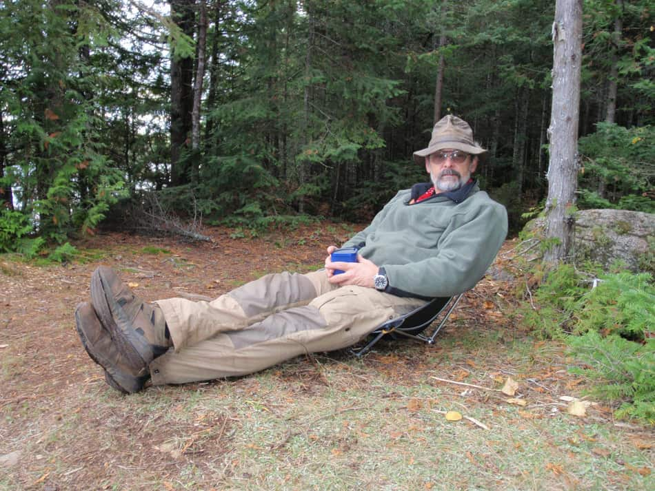 Robert Bullis BWCA Boundary Waters Canoe Trip Log