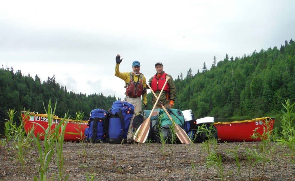 Vern Fish & Dave Fish Gull River Canoe Trip Report