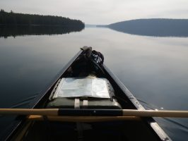 Solo Paddling in the Yellowstone Backcountry