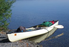 Canoeing Yellowstone Park Bending Branches Solo Paddle Review