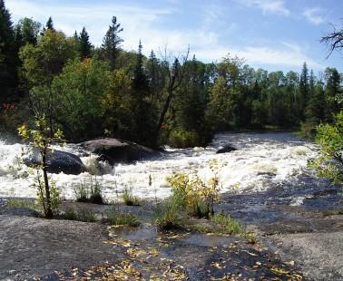 Canoeing Manitoba