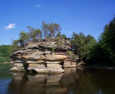 Canoeing Wisconsin