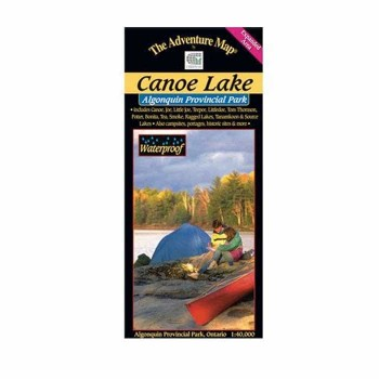 Algonquin Provincial Park 7 Canoe Lake Tom Thomson Lake Map