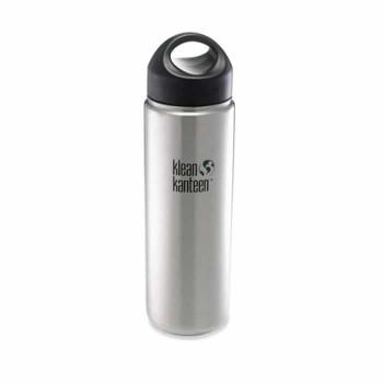 Klean Kanteen Stainless-Steel Wide-Mouth Loop-Cap Water Bottle