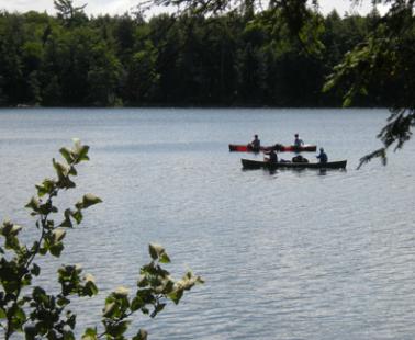 Canoeing Michigan